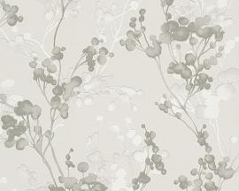 Behangpapier Bloemen Bruin 30056-5