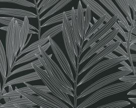 Metropolis bladeren behangpapier 93938-4
