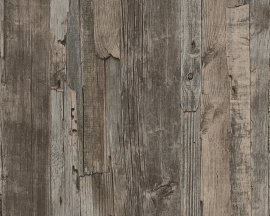 Decoworld behangpapier 95405-1 hout