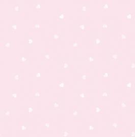 Carousel kinder behang DL21118 Hearts roze