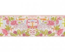 Oilily Home meisjes behangrandpapier 96130-2 roze