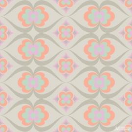 behang 61167-04 Retro bloemen