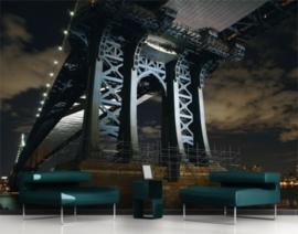 Fotobehang New York Bridge 153
