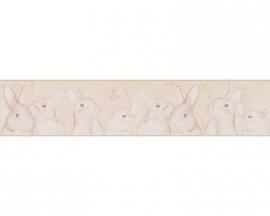 Lovely Friends konijnen kinder behangrandpapier 30330-5