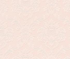barok behangpapier roze 505351