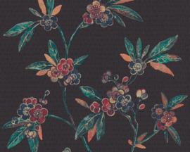 Asien fusion behang chinees japans oosters bloemen 37472-1