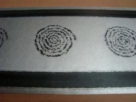 zwart zilver behangrand 11