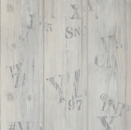 hout planken behang 49742
