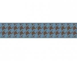 Schöner Wohnen 2678-32 trendy behangrandpapier blauw