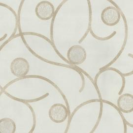 Behangpapier Creme Cirkels 02420-20