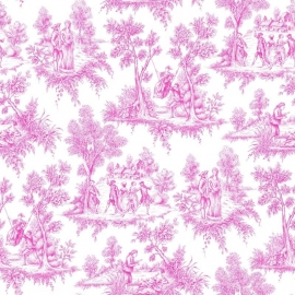 Love behang 136819 Toile Pink