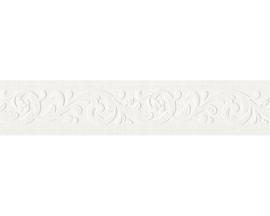 Wit behangrand relief 6396-15