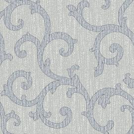 Behangpapier Barok Grijs Blauw GT28822