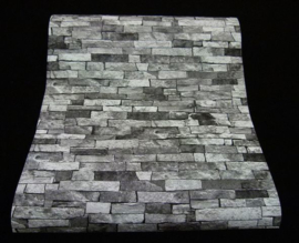 steen behang grijs antraciet xx112