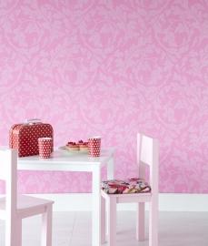 Behangpapier  Roze Barok 310064