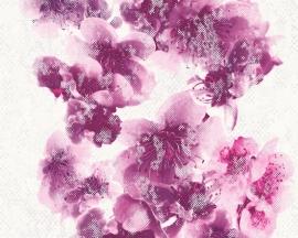 Metropolis bloemen behangpapier 93928-2 paars