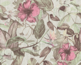 tropical floral behangpapier  37216-4