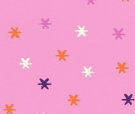 Kids Club 234015 kleine Sterren behang roze