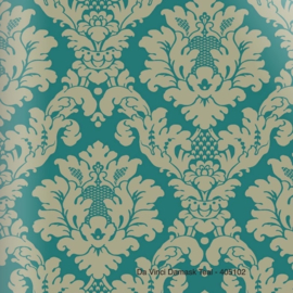 DA VINCI DAMASK TEAL BAROK BEHANG - Arthouse Options 2 405109