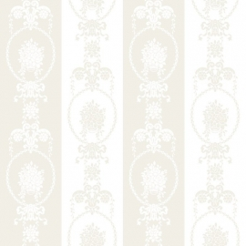 Love behang 136846 Baroque white