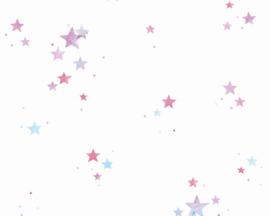 sterren behang kleurrijk 35696-3