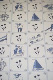 delfts blauw behang xx211