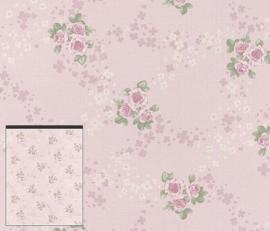 Rasch Lazy Sunday engelse bloemen behang 450923