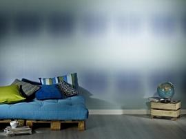 Trendy Behang blauw 896718