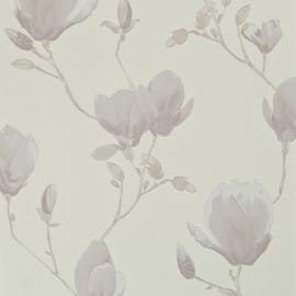 Fleurie bloemen behang 48381 lila