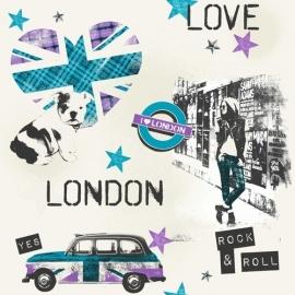 Londen Love Behang WU17625