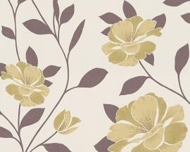 Behangpapier bloemen 95557-2