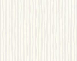 Schöner Wohnen strepen behangpapier 2685-18 grijs