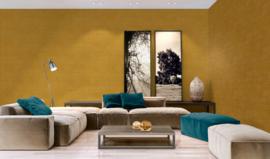 Behang geel honing 37175-4