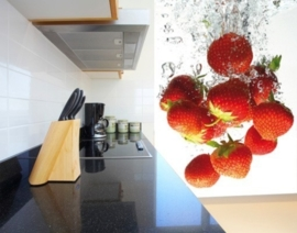 Fotobehang Strawberry Bath 38