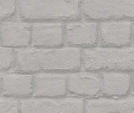 Behangpapier Stenen  Grijs 587227