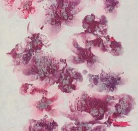 behang vlies bloemen rose 939282