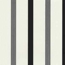 Behangpapier Streep Creme 13181-30