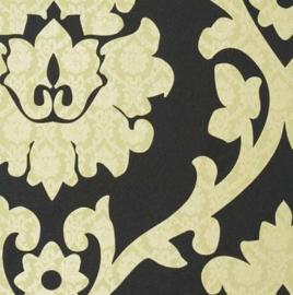 barok behang zwart goud xx54