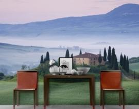 Fotobehang Tuscany Sunrise 86