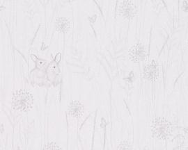 Lovely Friends konijnen kinder behangpapier 30332-1