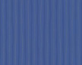 Schöner Wohnen strepen behangpapier 2685-32 blauw