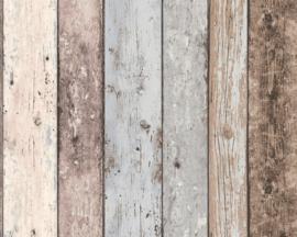 Innova 8999-27 Sloophout behang trendy