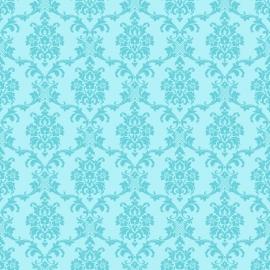 Love behang 136823 Baroque turquoise