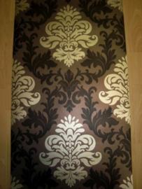 barok bruin goud behang opruiming rasch lounge xx58