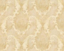 Barok glitter behang goud 32996-1