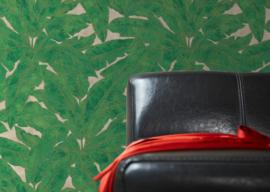 bladeren behangpapier groen 36927-3