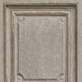 Houten Panelen Bruin Behang 524406
