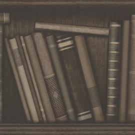 Behangpapier antieke boeken 2604-21231