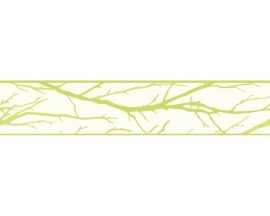 Schöner Wohnen 2684-26 takken behangrandpapier groen