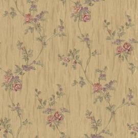 engelse bloemen roosjes behang xx21